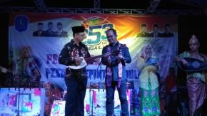 Wabup Bangka Buka Pentas Seni dan Bazar Produk UMKM Kecamatan