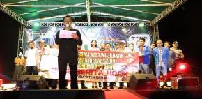 HNSI Bangka Deklarasi Pemilu Damai