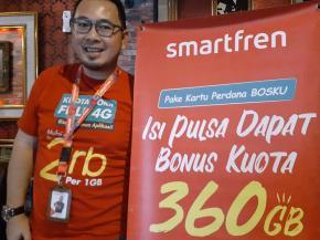 Pakai Smartfren Perdana BosKu, Total Kuotanya 360 GB