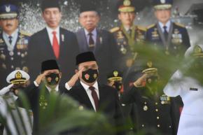 Gubernur Erzaldi Rosman Ikut Semarakkan HUT TNI ke-75