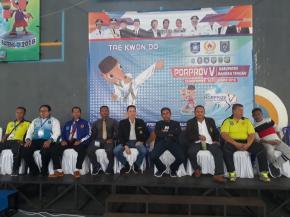 Pertandingan Cabor Taekwondo Proprov V 2018 Bangka Tengah Dimulai