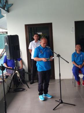 32 Peserta Ramaikan Kejuaraan Tenis Beribu Senyuman Kota Pangkalpinang