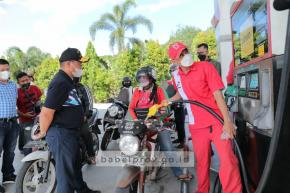 Gubernur Turun Langsung Benahi Kelangkaan BBM di Pulau Belitung