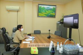 Wagub dan Kemenko Marves Tindaklanjuti MoU Geosite Open Pit Nam Salu
