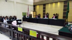 Radmida Dawam Bersaksi Dalam Sidang Perkara Dugaan Korupsi BPRS Cabang Taboali