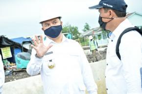 Gubernur Erzaldi Kunjungi Normalisasi Kolong Kace