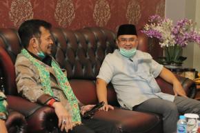 Sambut Kedatangan Menteri Pertanian, Gubernur Erzaldi sampaikan Potensi Unggulan Bangka Belitung