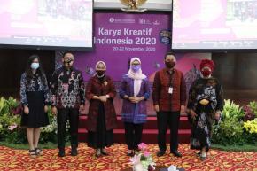 Dukung UMKM Indonesia, Ibu Melati Ikuti Pembukaan Karya Kreatif Indonesia 2020