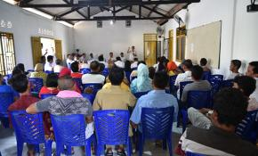 Sekda Bangka Pimpin Rapat Relokasi SDN 6 Deniang