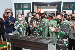 Gubernur Erzaldi Harap TNI Makin Profesional dan Dicintai Masyarakat