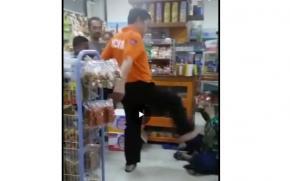 Viral Video Oknum Polisi Aniaya Ibu dan Anaknya di Minimarket Pangkalpinang