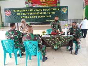 Peringati Hari Juang TNI-AD Kodim 0414/Belitung gelar Bakti Sosial Donor Darah