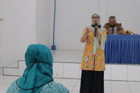 Ibu Melati Erzaldi Ingatkan Kader PKK Berantas Stigma Negatif Terhadap Penderita Covid 19