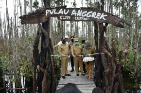 """Pulau Anggrek """"Elsye Lestari"""" Babel Resmi Jadi Destinasi Wisata Flora dan Fauna"""