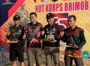 Raka SC Juara Umum Lomba Menembak HUT Ke -75 Brimob