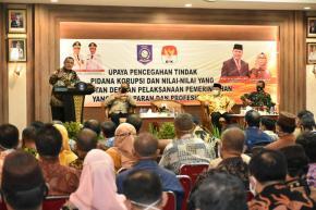 Ketua KPK RI Berikan Arahan Kebijakan Pencegahan Korupsi di Negeri Serumpun Sebalai