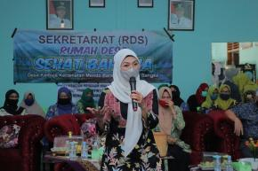 Terima Laporan Stunting, Ibu Melati Kunjungi Desa Kemuja