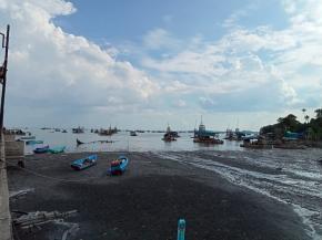 Ratusan Ponton Timah Beroperasi di Perairan Batu Dinding Belinyu