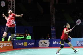 Ganda Campuran Indonesia, Rinov/Mentari Melaju Mulus ke Babak Final Indonesia Master 2018