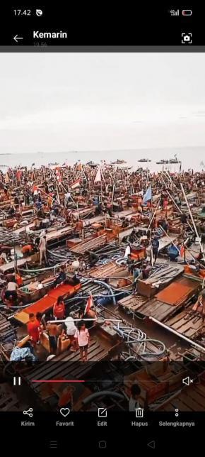 Aktivitas TI Tungau di Pantai Toboali Dihentikan, Badan Pengurus Markas Cabang Laskar Merah Putih Basel Beri Pernyataan Sikap