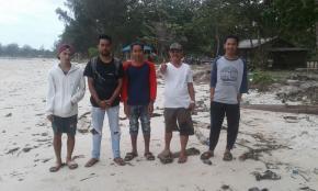 Pemuda Parit Tiga Berharap Pemkab Bangka Barat Perhatikan Pantai Dum