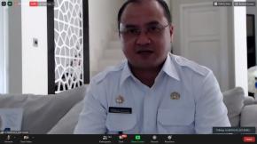 Gubernur Erzaldi Jadi Narasumber Webinar Oleh Kemendagri RI